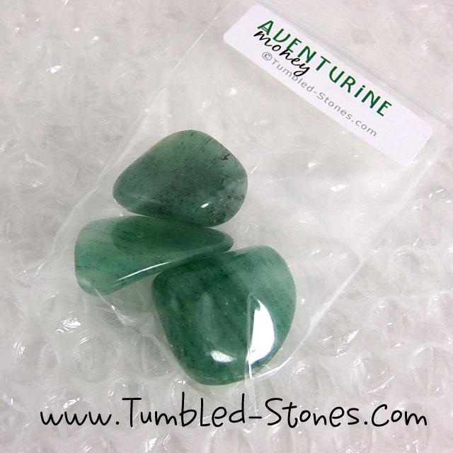 aventurine tumbled stones