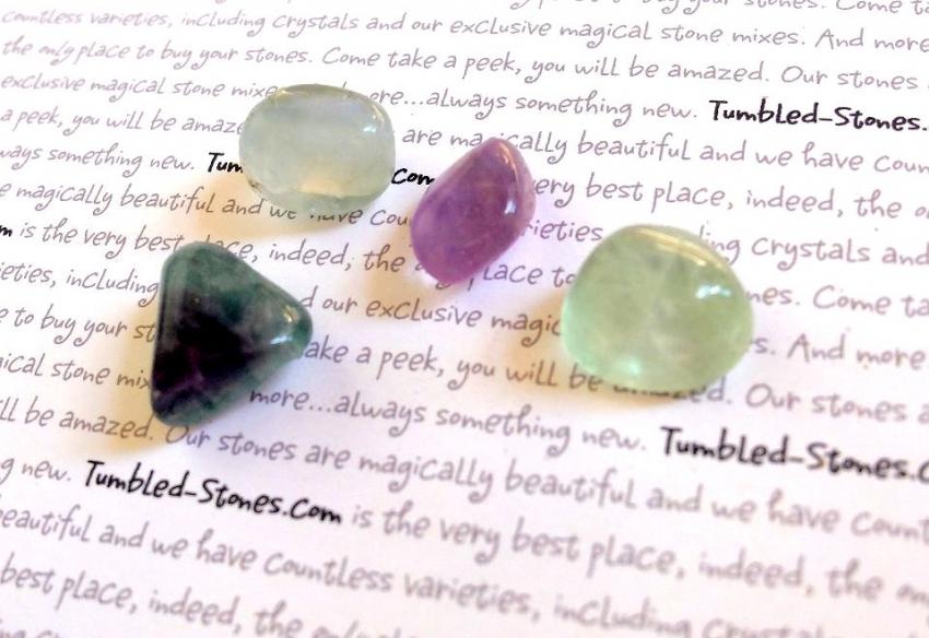 flourite tumbled stones