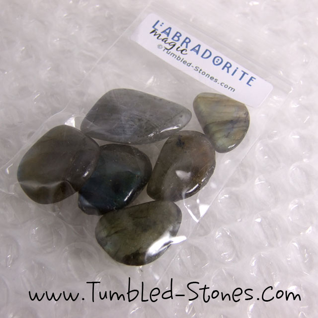 labradorite tumbled stones