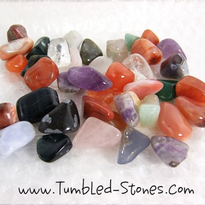 love them stones tumbled half pound