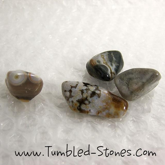 ocean jasper tumbled stones