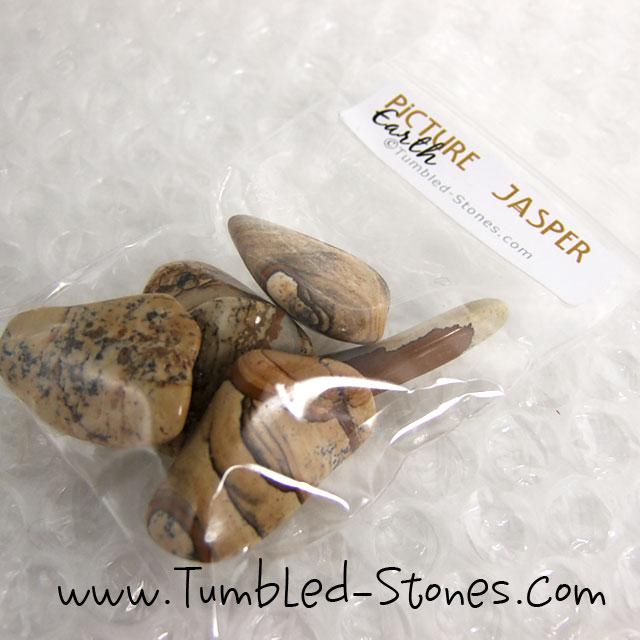 picture jasper tumbled stones