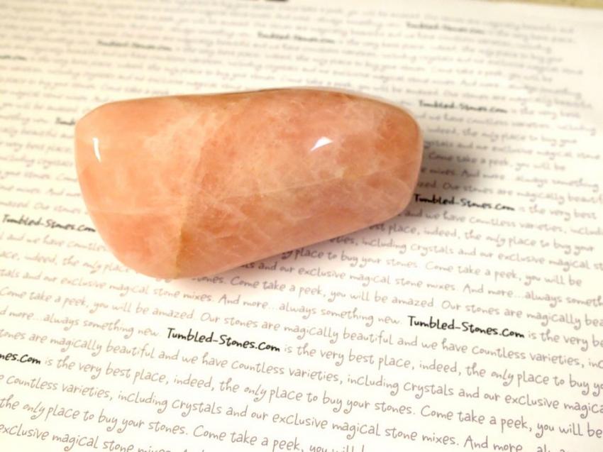 rose quartz giant tumbled stones