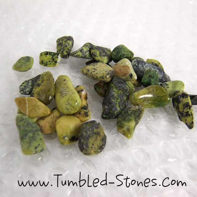 serpentine tumbled stones