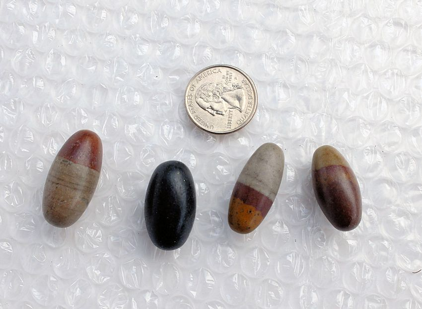shiva lingums tumbled stones