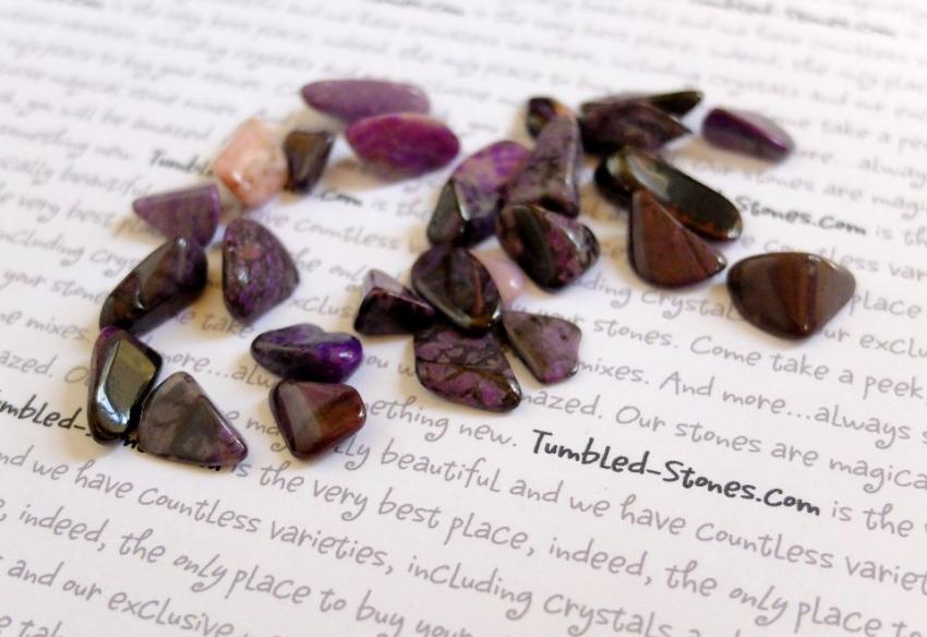 Sugilite tumbled stones